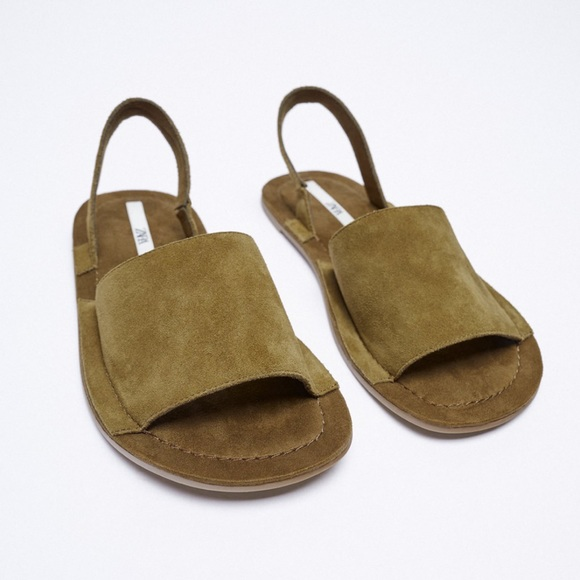 Zara Cow Leather Sandals